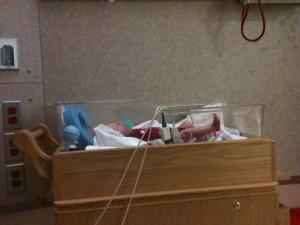 Private room to facilitate breastfeeding