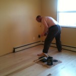 Varnishing the master bedroom